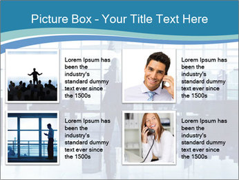 Businessman on the Phone PowerPoint Template - Slide 14
