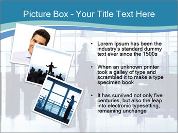 Businessman on the Phone PowerPoint Template - Slide 17