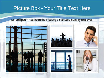 Businessman on the Phone PowerPoint Template - Slide 19
