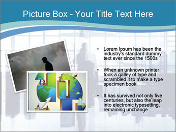 Businessman on the Phone PowerPoint Template - Slide 20