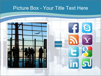 Businessman on the Phone PowerPoint Template - Slide 21