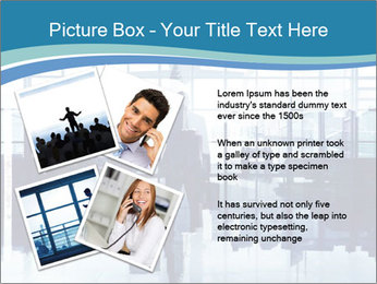 Businessman on the Phone PowerPoint Template - Slide 23