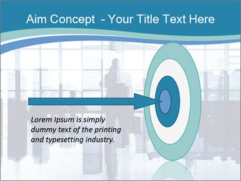 Businessman on the Phone PowerPoint Template - Slide 83