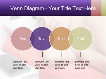 Beauty woman sleeping PowerPoint Template - Slide 32