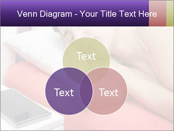 Beauty woman sleeping PowerPoint Template - Slide 33
