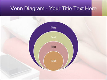 Beauty woman sleeping PowerPoint Template - Slide 34