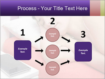Beauty woman sleeping PowerPoint Template - Slide 92
