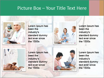 Elderly woman in consultation with her doctor PowerPoint Template - Slide 14