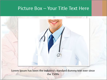 Elderly woman in consultation with her doctor PowerPoint Template - Slide 16