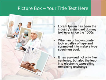 Elderly woman in consultation with her doctor PowerPoint Template - Slide 17