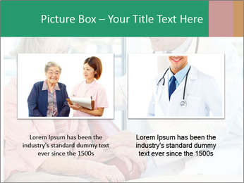 Elderly woman in consultation with her doctor PowerPoint Template - Slide 18