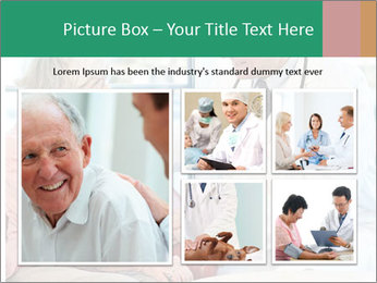 Elderly woman in consultation with her doctor PowerPoint Template - Slide 19