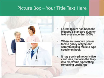 Elderly woman in consultation with her doctor PowerPoint Template - Slide 20