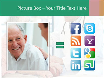 Elderly woman in consultation with her doctor PowerPoint Template - Slide 21