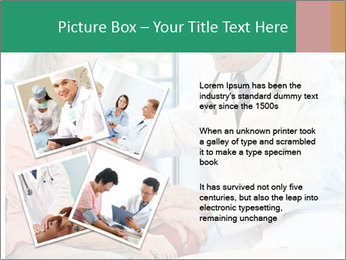 Elderly woman in consultation with her doctor PowerPoint Template - Slide 23