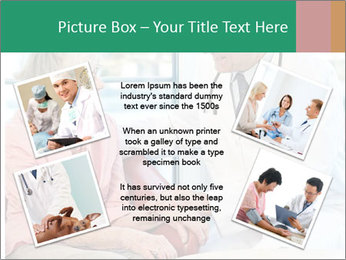 Elderly woman in consultation with her doctor PowerPoint Template - Slide 24