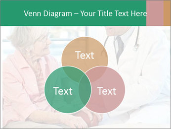 Elderly woman in consultation with her doctor PowerPoint Template - Slide 33