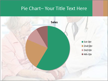 Elderly woman in consultation with her doctor PowerPoint Template - Slide 36