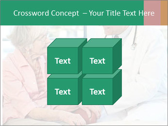 Elderly woman in consultation with her doctor PowerPoint Template - Slide 39