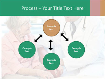 Elderly woman in consultation with her doctor PowerPoint Template - Slide 91