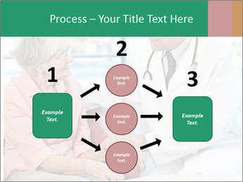 Elderly woman in consultation with her doctor PowerPoint Template - Slide 92