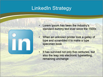 View of the town PowerPoint Templates - Slide 12