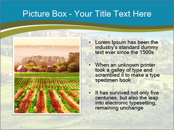 View of the town PowerPoint Templates - Slide 13