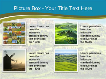 View of the town PowerPoint Templates - Slide 14