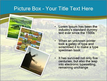 View of the town PowerPoint Templates - Slide 17
