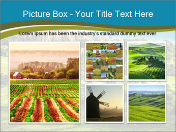 View of the town PowerPoint Templates - Slide 19