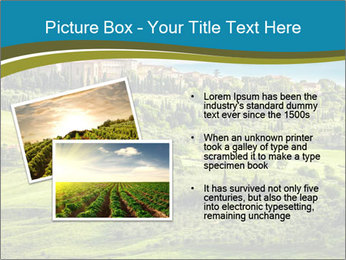 View of the town PowerPoint Templates - Slide 20