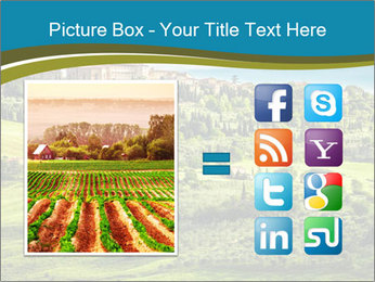 View of the town PowerPoint Templates - Slide 21