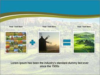 View of the town PowerPoint Templates - Slide 22