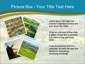View of the town PowerPoint Templates - Slide 23