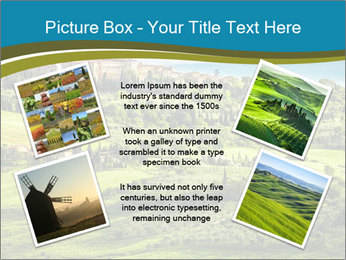 View of the town PowerPoint Templates - Slide 24