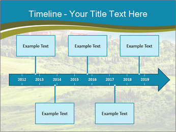 View of the town PowerPoint Templates - Slide 28