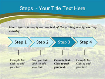 View of the town PowerPoint Templates - Slide 4