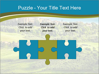 View of the town PowerPoint Templates - Slide 42