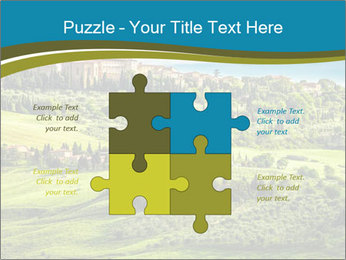 View of the town PowerPoint Templates - Slide 43