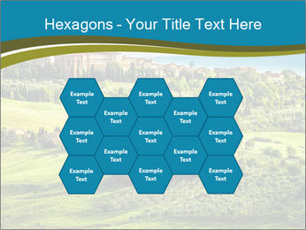 View of the town PowerPoint Templates - Slide 44