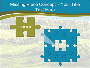 View of the town PowerPoint Templates - Slide 45