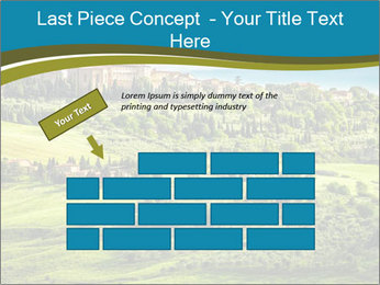 View of the town PowerPoint Templates - Slide 46