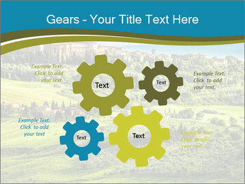 View of the town PowerPoint Templates - Slide 47