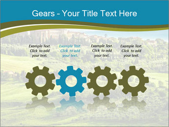View of the town PowerPoint Templates - Slide 48