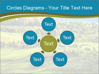 View of the town PowerPoint Templates - Slide 78
