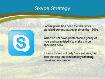 View of the town PowerPoint Templates - Slide 8