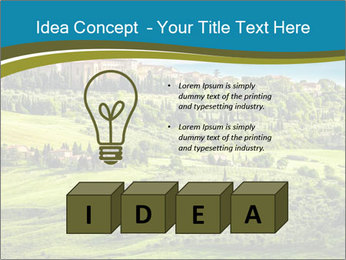View of the town PowerPoint Templates - Slide 80
