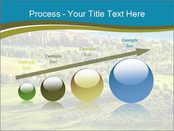 View of the town PowerPoint Templates - Slide 87