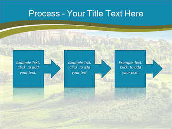 View of the town PowerPoint Templates - Slide 88