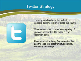 View of the town PowerPoint Templates - Slide 9